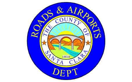 Santa Clara Roads and Airports logo